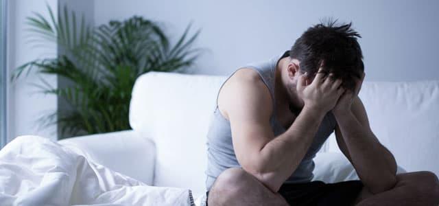 Man experiencing Gabapentin withdrawal